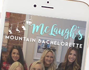Mountain Bachelorette Party Snapchat Filter 1068
