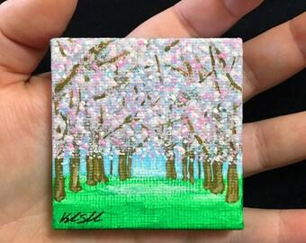 Cherry Blossom Miniature Landscape