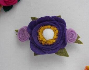 Single Flower Barrette