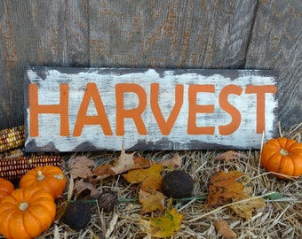 Rustic wooden harvest signs, Fall decor, Fall signs, Autumn decor, Rustic home decor, Harvest signs, Rustic fall decor,Signs for fall, Signs