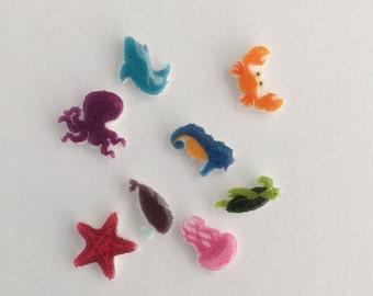 Ocean Creatures Memory Locket Charms & Disk