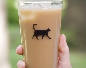 Cat Pint Glass Set