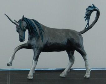Unicorn in Grey