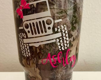 Jeep Name Decal