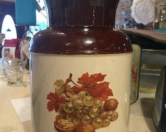 Fall Festival McCoy Cookie Jar