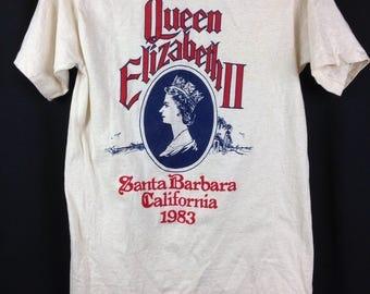 1983 Queen Elizabeth II TEE