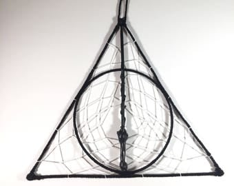 Harry Potter Deathly Hallows Wand Dreamcatcher