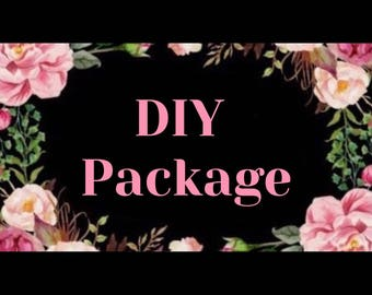 DIY PACKAGE (flowers not included)