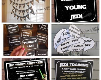 Star Wars party bundle {digital/printable}