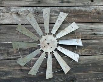 Windmill, Metal Windmill, Rustic Windmill, Windmill Blades, Vintage Windmill, Farmhouse Windmill, Metal Windmill Wall Decor, Windmill Decor