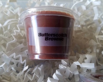 Butterscotch Brownie scent shot, soy wax melts, Butterscotch wax melts, candle melts, gifts for her, brownie lover, wax tarts