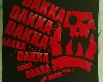 Warhammer, 40k, Orks,  DAKKA DAKKA, Warhammer Cosplay, Geek Shirts