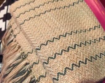 Handwoven Alpaca Silk Scarf