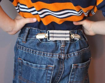 Kids' Elastic Clip Cinch Belt - Waistband Tightener