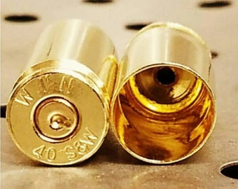 40 S&W Brass Casings-Reloading Brass-1000 Clean Unprocessed Empty Casings-.40 Smith and Wesson Cases-Brass for Reloading-40cal Brass-40 SW