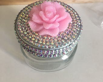 SALE!! Bling Trinket Jar