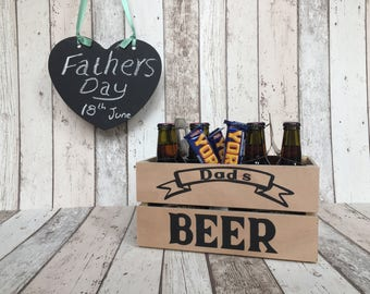 Personalised Fathers Day crate