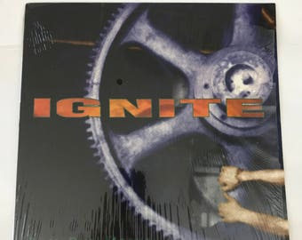 """IGNITE 'Past Our Means' 12"""" EP"""