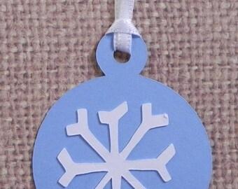 snowflake gift tag, Christmas gift tag, gift tag, holiday gift tag. holiday tag