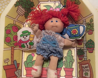 Vintage Coleco Cabbage Patch Mini ~ Greenhouse~ Cabbage Patch Dolls