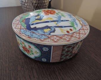 Pot - porcelain Imari - Japan - Miyako