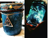Harry Potter inspired soy candle