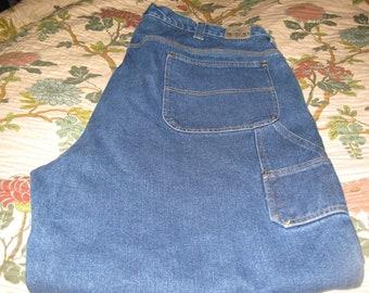ship free redhead blue jeans  size 46 x32  Carpenter Jeans Pants