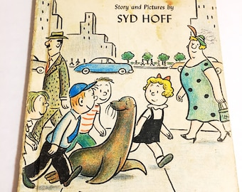 Vintage Sammy the Seal by Syd Hoff.  I Can Read Book.  Collectible edition for children.  Christmas Chanukah gift.