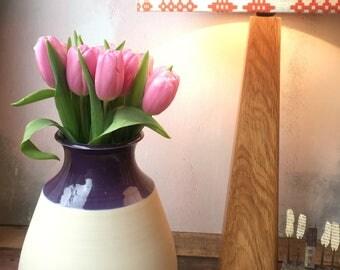 Ceramic bulb vase