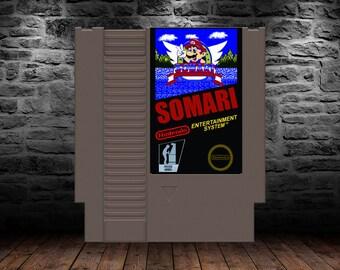 Somari - A Sonic meets Mario platforming adventure - NES - ROMHack