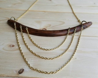 Triple Gold Plated Chain
