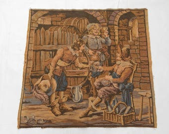 Vintage French Beautiful  Tapestry (224)