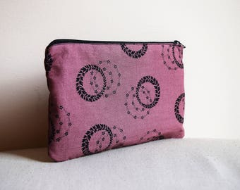 Purple Witchy Print Pencilcase / Pouch