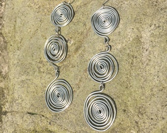 Swirl (circle of life) earrings