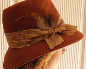 Costume Hat Brown