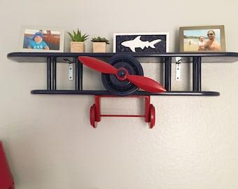 Shelf, Vintage Bi-Plane