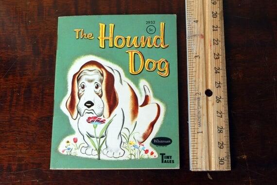 El perro sabueso-Nancy Hoag-Bruno por ShabbySureBooksMusic en Etsy