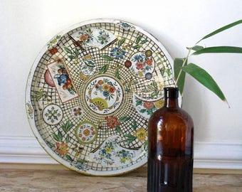Large Daher,  decorative ware metal tray