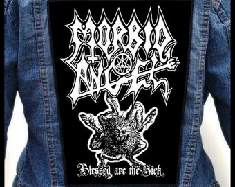 MORBID ANGEL - Blessed Are the Sick === Backpatch Back Patch / Nocturnus Angelcorpse Vital Remains Malevolent Creation Necrovore
