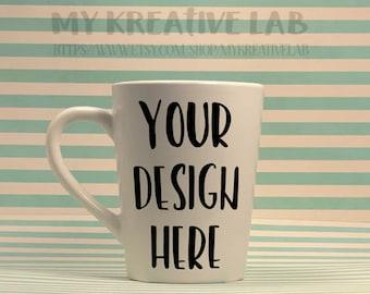 Custom decal for coffee mugs