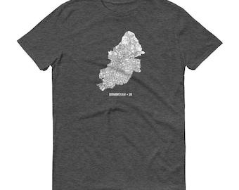 Birmingham Shirt, Birmingham, England, Birmingham TShirt, Birmingham Gift, Birmingham Map, England Shirt, United Kingdom Map, Birmingham UK