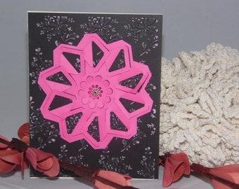 Origami Greeting Card - Blank