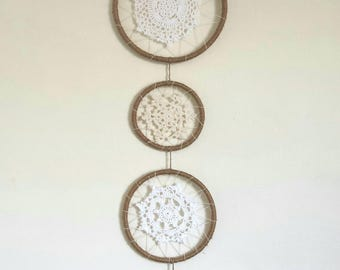 Four Hoop Wall Hanging