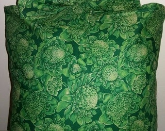 Gorgeously green cabbage cushion bow tie bright green funky
