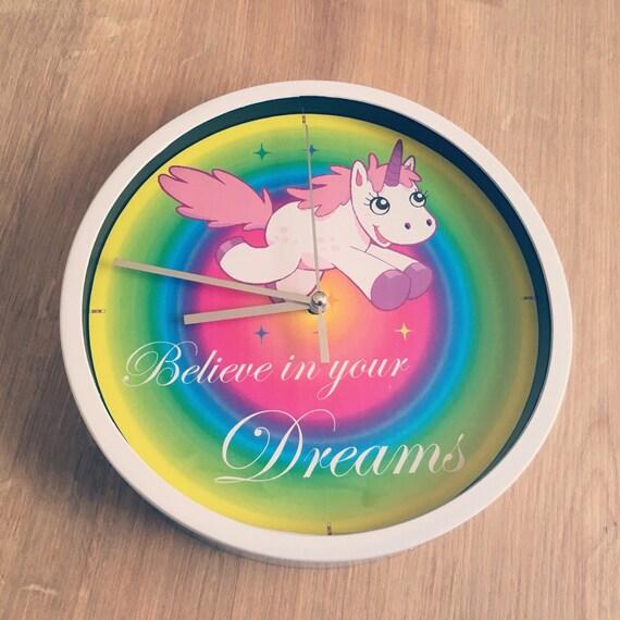 Wall clock Unicorn Unicorn