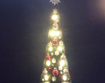 Marqee Lighted Christmas Tree