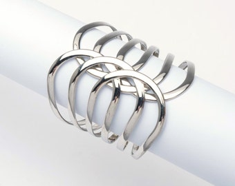 Vintage bracelet, silver metal bangle, retro silver metal bracelet, silver style bracelet, vintage bracelet, retro bracelet, vintage bangle
