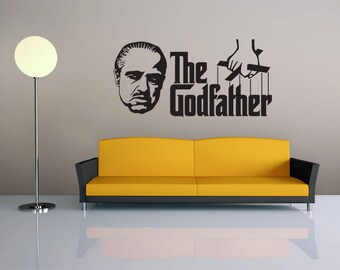 The Godather - Vinyl Wall Decal