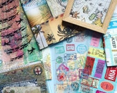 BiMonthly Subscription Box - Journaling Ephemera and Scrapbooking Supplies. Planner Packs, Collage Bundles, Kits for Art Journals
