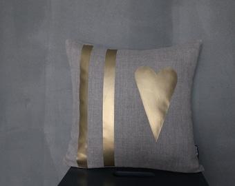 """Pillow """"Two Stripes"""""""